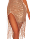 Luxury Brand design new Womens V Neck Sexy backless Lace Gown dance Latin Sequins Spaghetti Strap evening tassels club Dresses