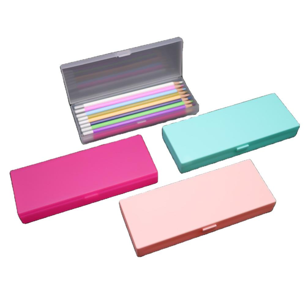 Wholesale Multifunction Pencil Case Plastic School Office Pen Storage Customized Pencil Case