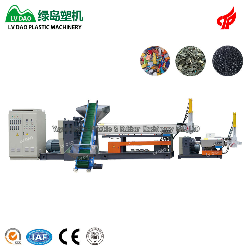 China fabrikant PP PE polypropyleen recycling machine