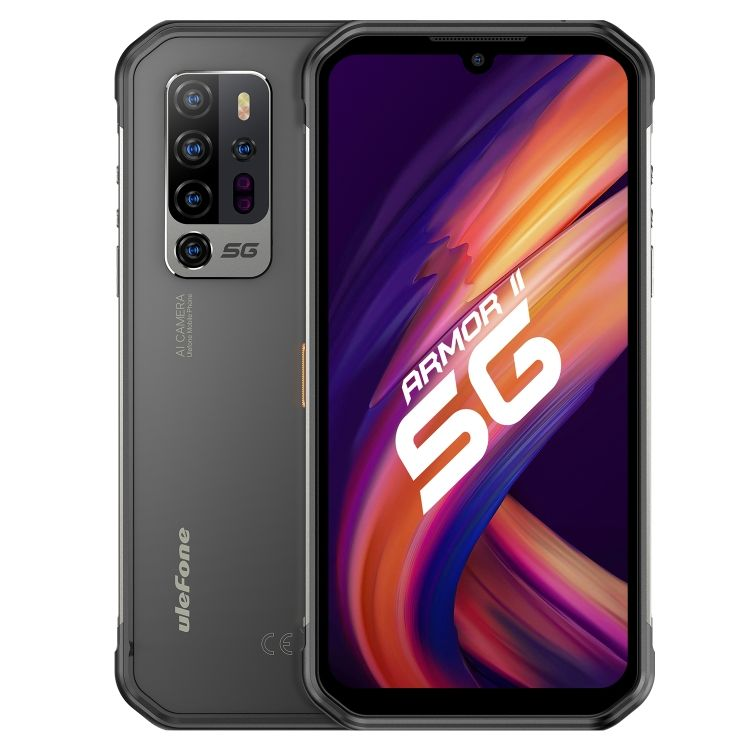 2021 Ulefone Armor 11 5g Rugged Phone 8GB 256GB IP68 Waterproof 5000mAh 5.5 zoll Android 10 cellular robuste online telefon auftrag