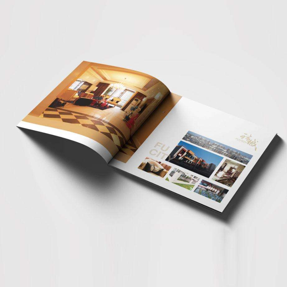 Perfect binding cheap custom high quality product catalog printing
