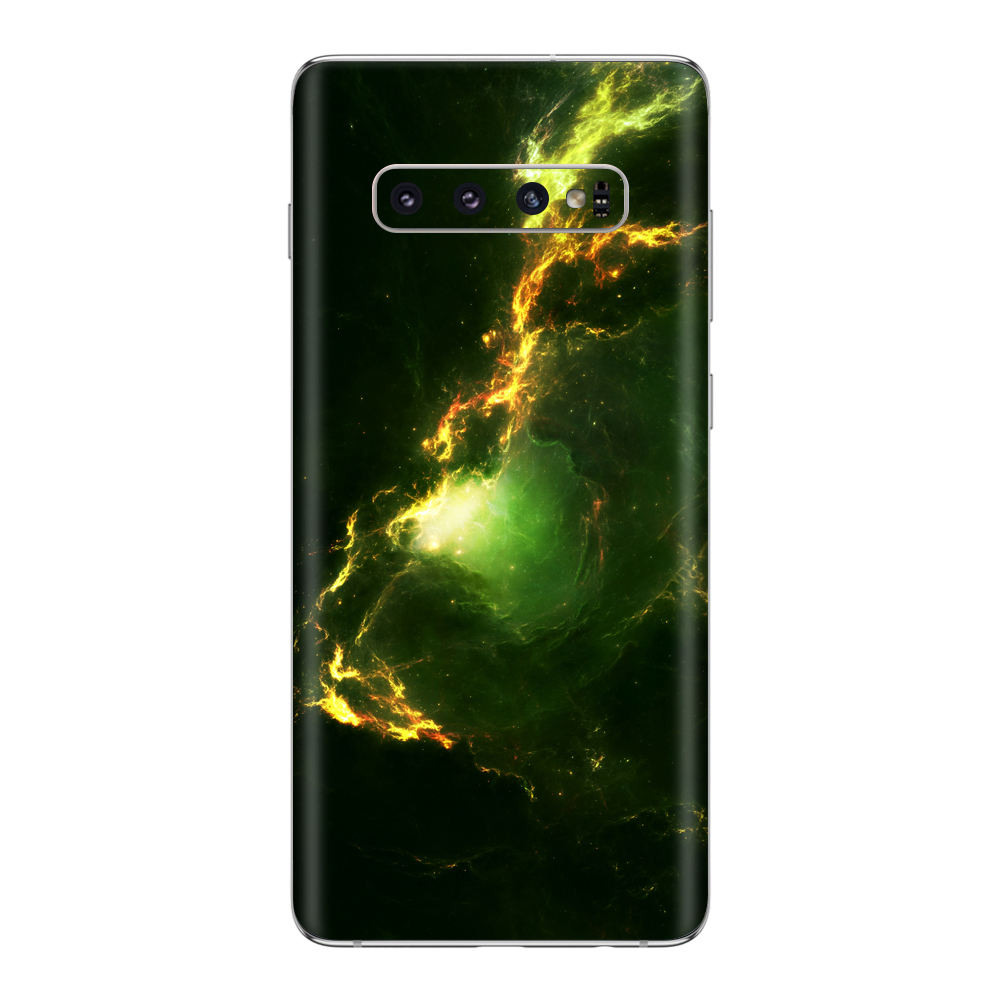 Custom mobile phone decoration high end 3M vinyl decal sticker for Samsung Galaxy S10 / S10 + Skin Sticker