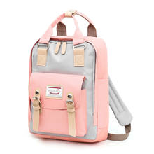 Multifunction women backpack girls shoulder bag High quality canvas laptop backpack schoolbag for teenager girls boys