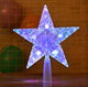 Christmas Tree Topper Star Lights for Christmas decoration and party decorations and Led plastic glowing tree top star