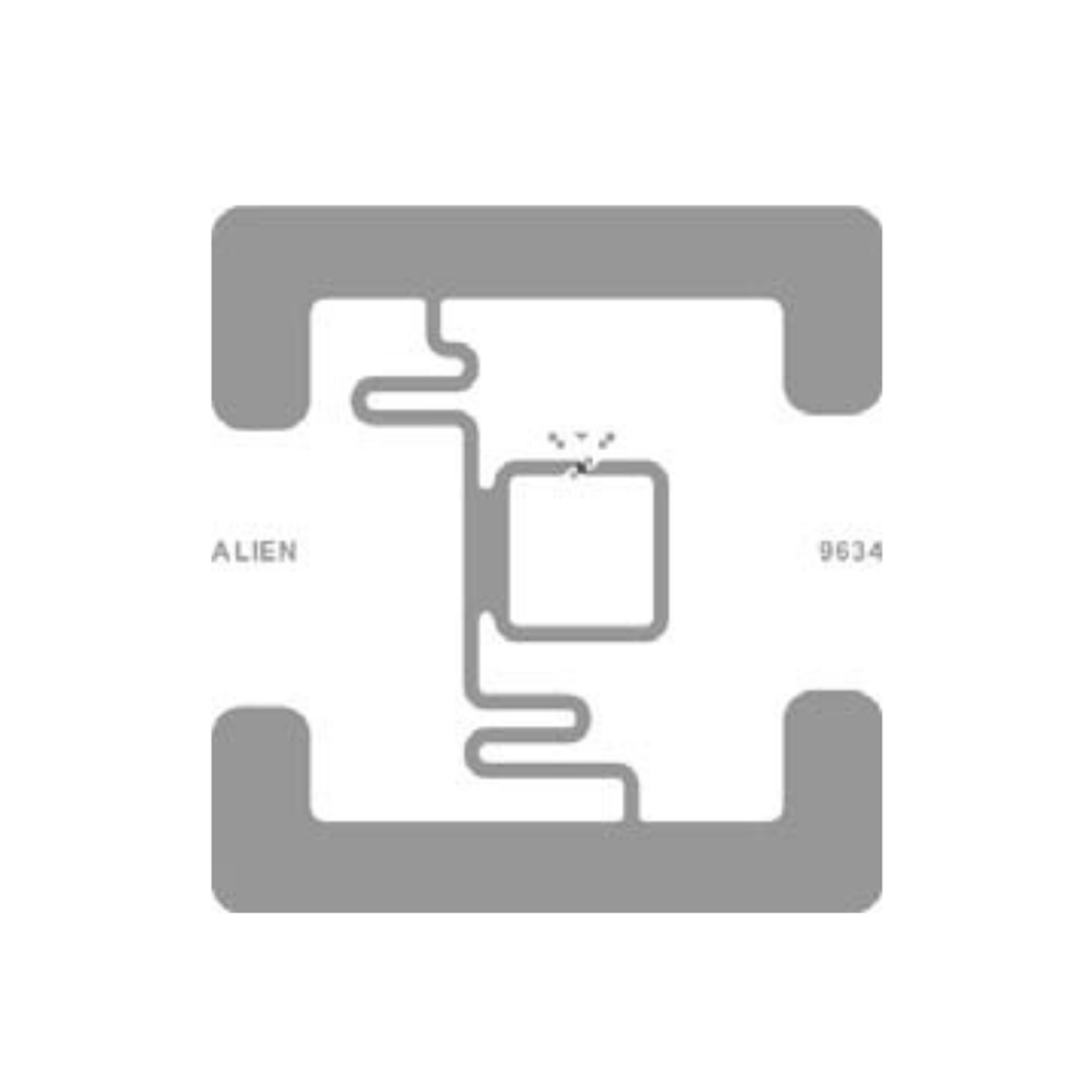 Alien 2x2 RFID White Wet Inlay (ALN-9634) Large Package Labels