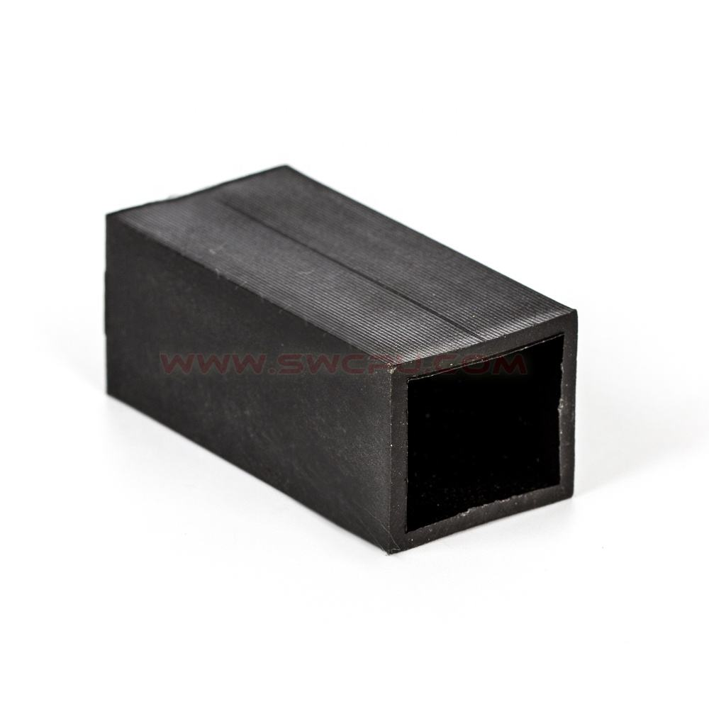 Flanged Plastic Bushing OEM Custom Made Pom Plastic Flanged Square Bushing