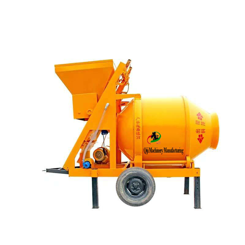 Factory direct sales of new movable drum diesel-powered cement mortar concrete mixer
