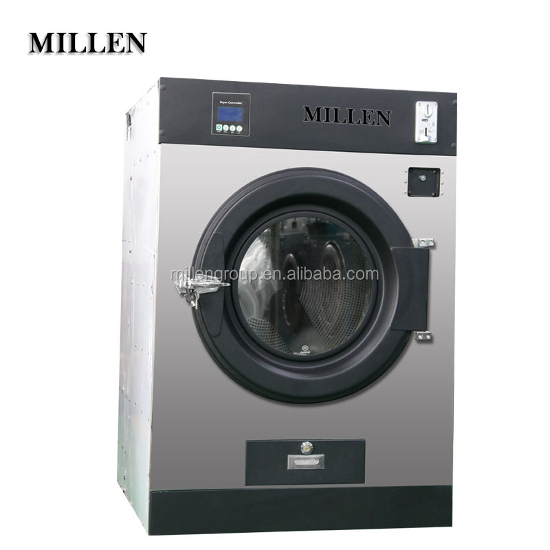 Self-service coin/token/card operated laundry tumble dryer machine for sale