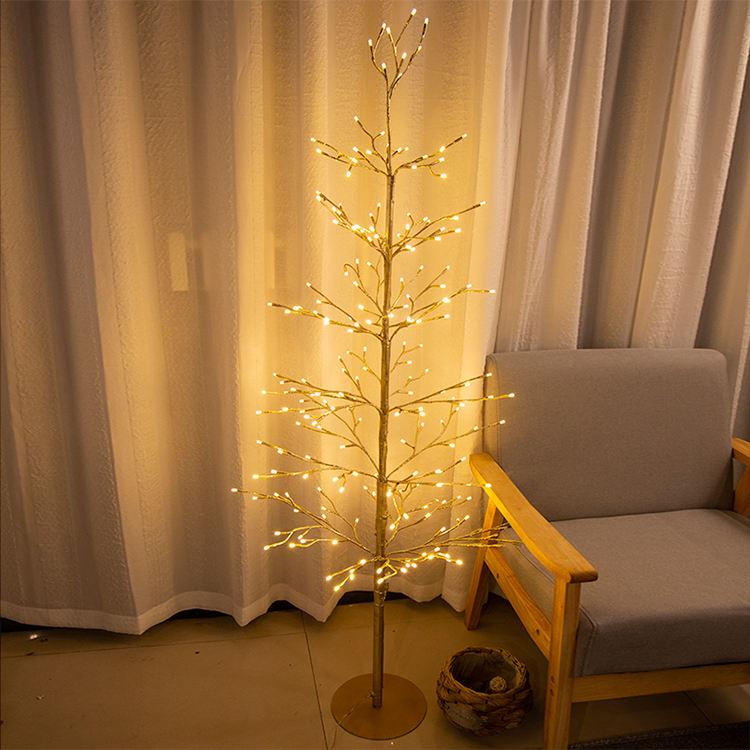 パーティーのためにライトが点灯しているカスタムメイドのLEDつららホリデーきらきら星のクリスマスツリー