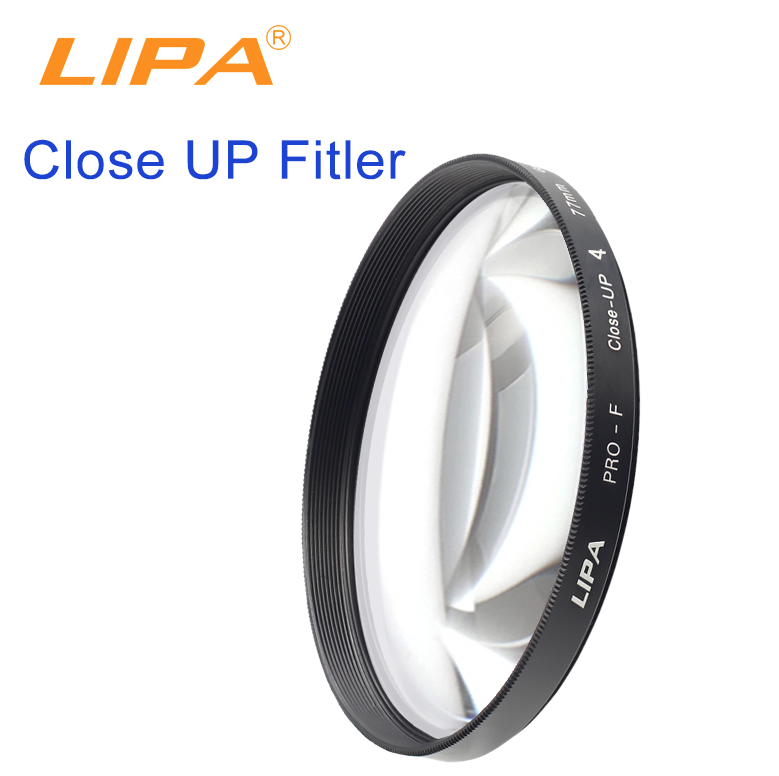 LIPA Close-up Lens Filter Close-up+1+2+4+10 Lens filter Macro Close-up filter