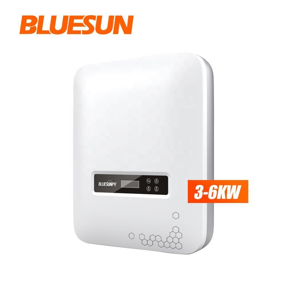 Bluesun Solar Mini Pada Inverter Grid 100 W 800 W 1kw 2kw 3kw Solar Cell Inverter Grid Tie Harga