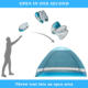 Portable Pop Up Tent Pop Uv Beach Tents 2020 Instant Portable 3-4 Person Fishing Anti UV Sun Shelter Outdoor Cabana Automatic Pop Up Beach Shade Tent