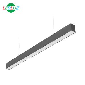 Aluminum LED Linear Light suspended and surface for Office home lighting