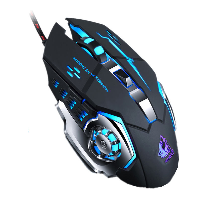 Custom Professione Wired usb led RGB magic verticale teclado y gaming Silenzioso <span class=keywords><strong>Del</strong></span> <span class=keywords><strong>Mouse</strong></span> Per Il computer portatile <span class=keywords><strong>del</strong></span> PC Notebook
