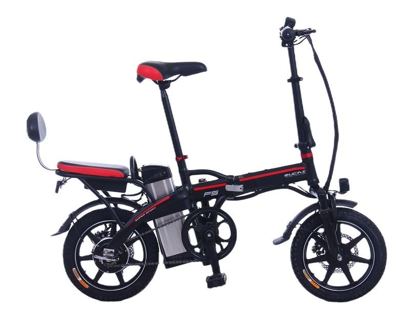 Hot-selling new small folding electric bicycle safe for children electric bicycle for students electric bicycle
