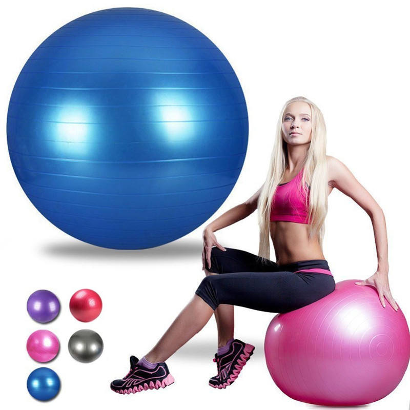 Sport Balls Yoga Pilates Fitness Palestra Equilibrio Fit ball Esercizio Pilates Workout Massaggio Palla 45 centimetri