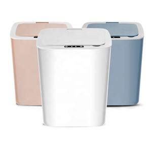 High Quality Intelligent Automatic Touch-Free Rectangular Rechargeable Dustbin Trash Can