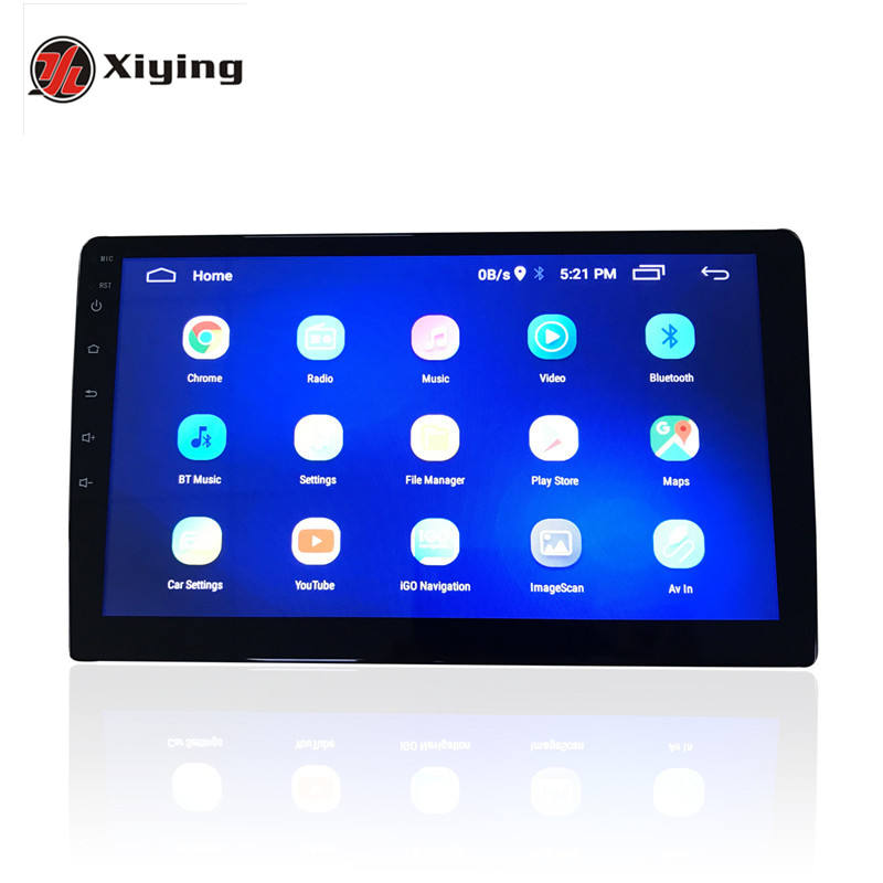 Car Player Android Audio Radio DVD TF Card GPS Navigation Bluetooth Music Player