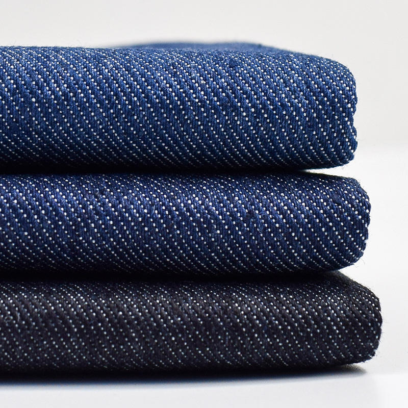 Twill woven 65% cotton 33% polyester 2% spandex 8.3oz denim stretch fabric for jeans