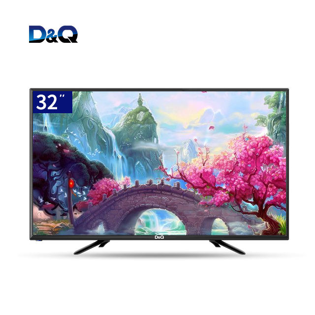 China DQ fabricante-HD Digital pantalla grande 32 ''televisión, no vidrio templado 4k televisor, smart led tv 32 pulgadas