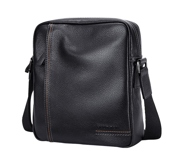Genuine Leather Crossbody Men Messenger Bag Hot Sale Male Small Man Flap Fashion Shoulder Bags Men's Travel New Handbags