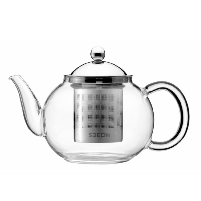 Stocked Eco-Friendly BPA Free Chinese Tea Set Glass Teapot Wholesale For One