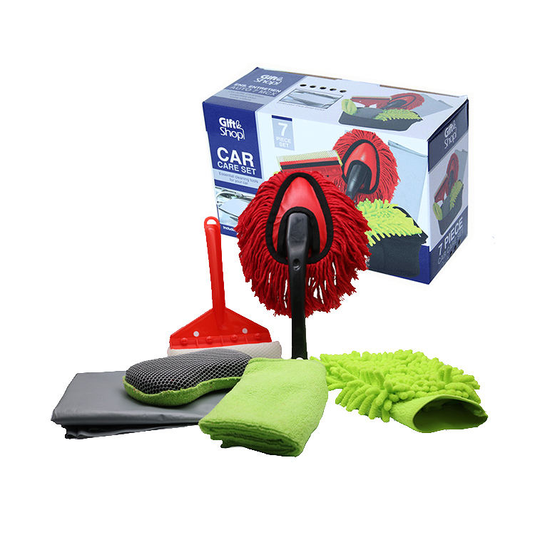 Draagbare 7 Pcs Care <span class=keywords><strong>Set</strong></span> Cleaning <span class=keywords><strong>Wassen</strong></span> Care <span class=keywords><strong>Tool</strong></span> Kit Microfiber <span class=keywords><strong>Auto</strong></span> <span class=keywords><strong>Wassen</strong></span> & Detaillering Kit Car Cleaning <span class=keywords><strong>Set</strong></span>