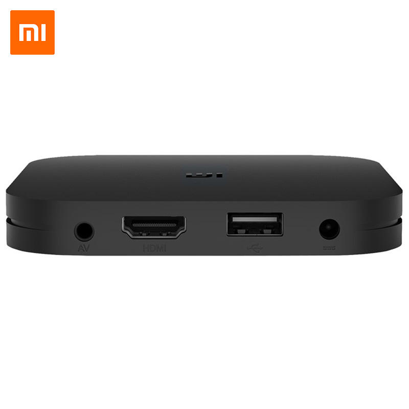 Original International Version Xiaomi MI BOX S 4K Ultra HD Android TV 8.1 Set Top Box With Google Assistant