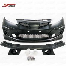 2011-2013 MUGEN STYLE PP BODY KIT FRONT BUMPER FOR HONDA JAZZ FIT