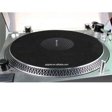 Extremely upscale carbon fiber vinyl record slipmats turntable player