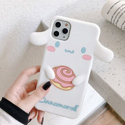SIKAI OEM High Quality Low Price 3D cartoon silicone phone case For IPhone Max Unicorn Phone Cover For iPhone Case Phone Case