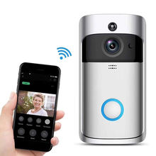 Wireless Door Bell 720P Wireless Home Security Doorbell Camera