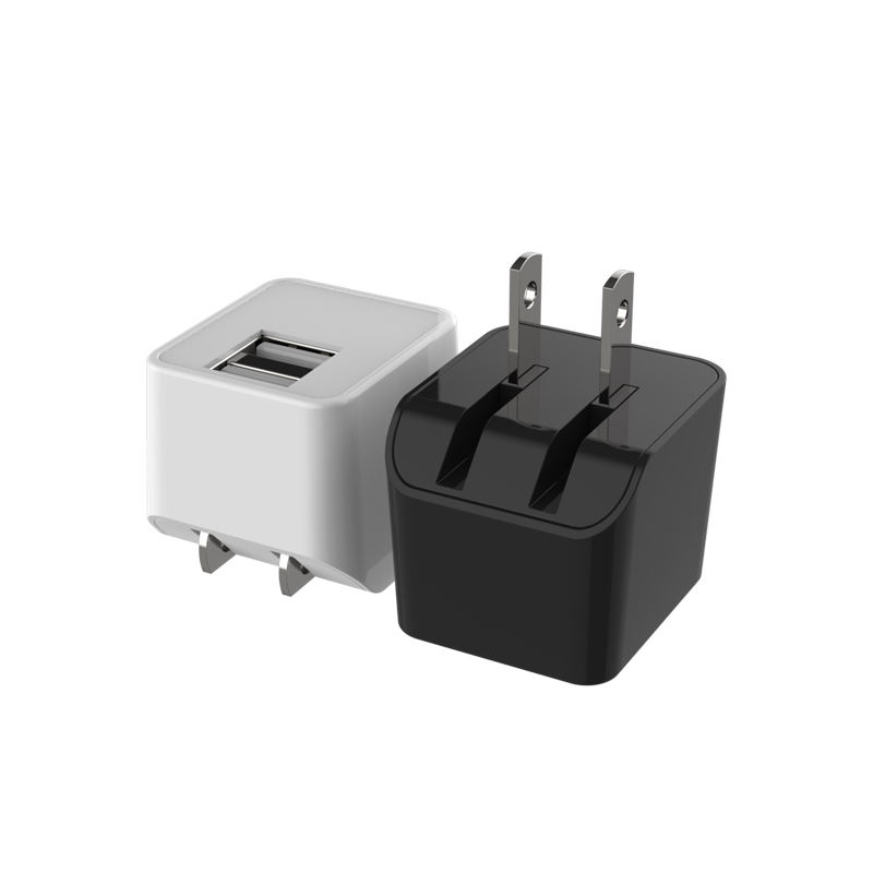 USB Wall Charger, 5V 2.4A USB Cube Power Adapter Wall Charger Plug Charging Block Cube For Phone