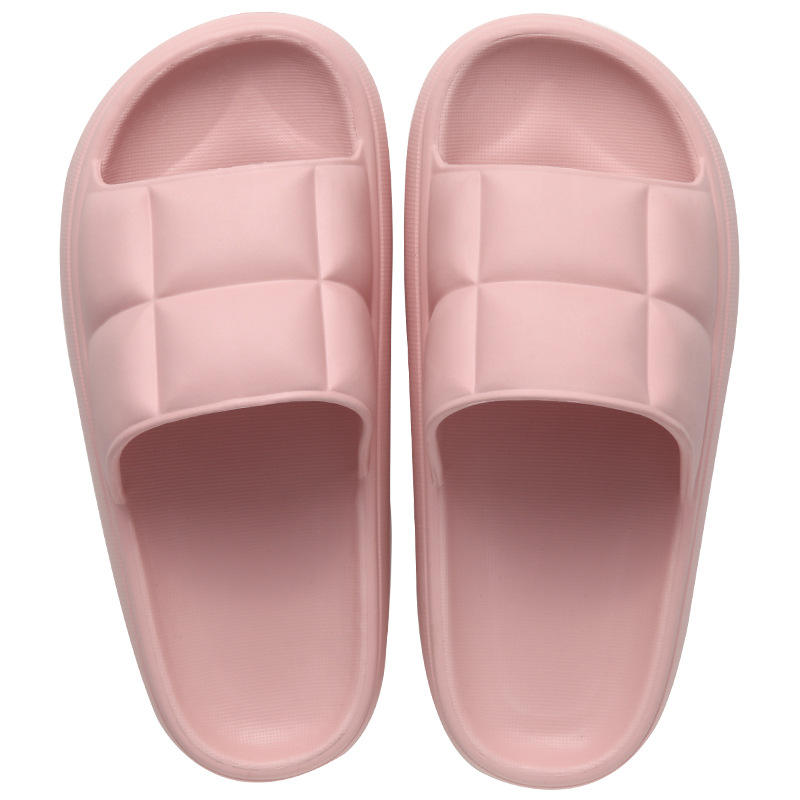 Summer Outdoor Household Bath Shower Men's and Women's Non-slip Comfortable Silver Slider Slippers Designer
