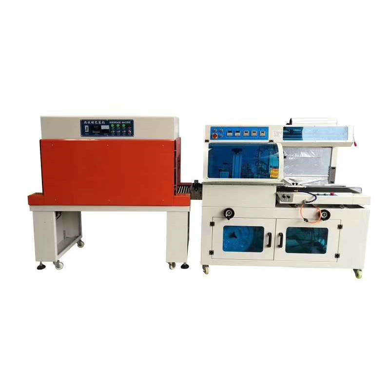 Heat Wiind FQ450 Automatic L POF PE film Sealer Sealing Auto Shrinking Tunnel Shrink Packing Wrapping Machine for boxes