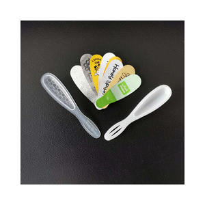 PP Transparent Flatware Fill 7ml 10ml Can Seal Aluminium Foil Plastic Sweet Honey Spoon