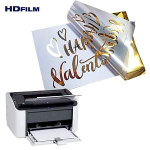 Big Stock Available Toner Reactive Hot Stamp Plastic Foil for Digital Printer
