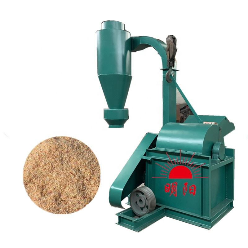 22KW Capacity 600Kgs/H Small Wood grinder agriculture wastes hammer mill crusher