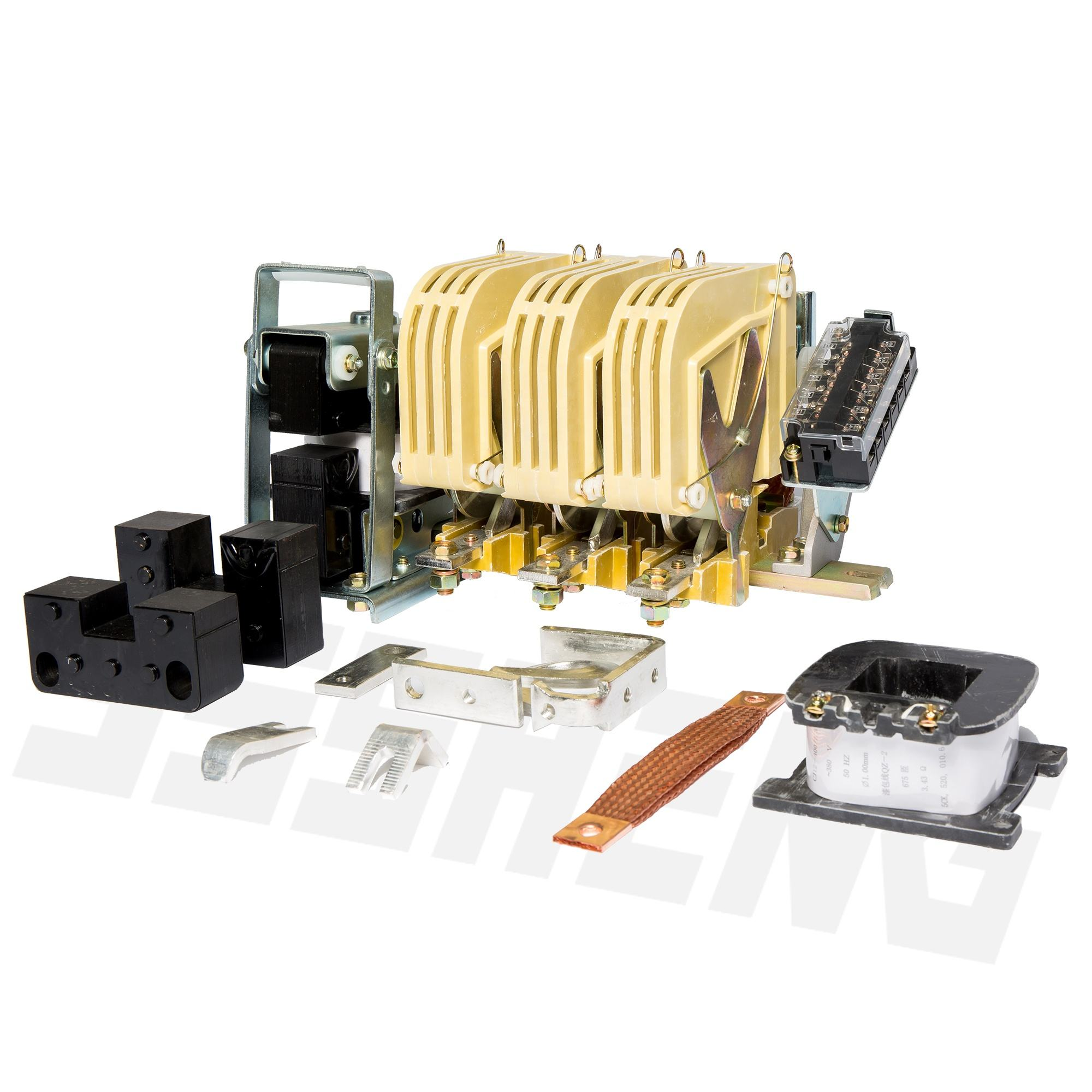China factory hot sale CJ12 A type 400A 3P series AC electric magnetic contactor KT5043