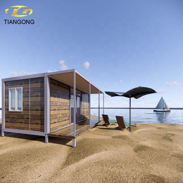 Fabrikant van strand tiny container huis