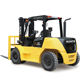 Mitsubishi S6S-T engine big 5ton diesel forklift with LINDE & TCM technology from Runtx China