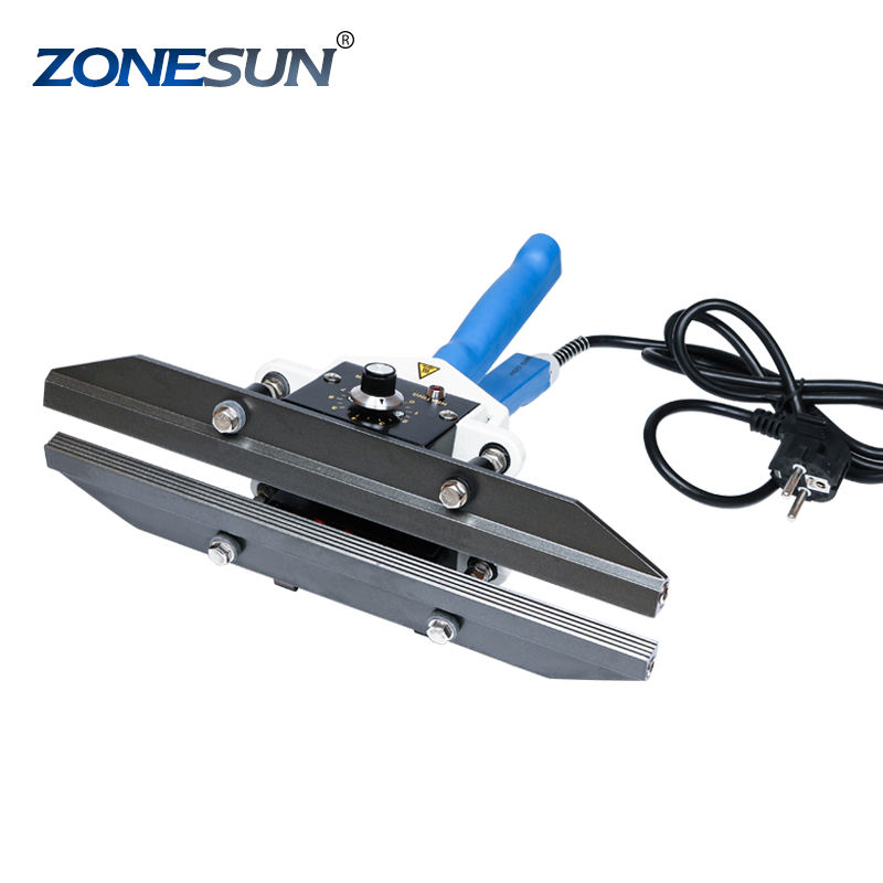 ZONESUN FKR-200 Handheld Heat Sealer Sealing Machine Temperature Control Mylar Bag Pack sealer