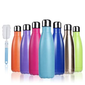 500ml Double wall Stainless Steel Insulated Water Bottle Thermos Flask Vacuum Flask