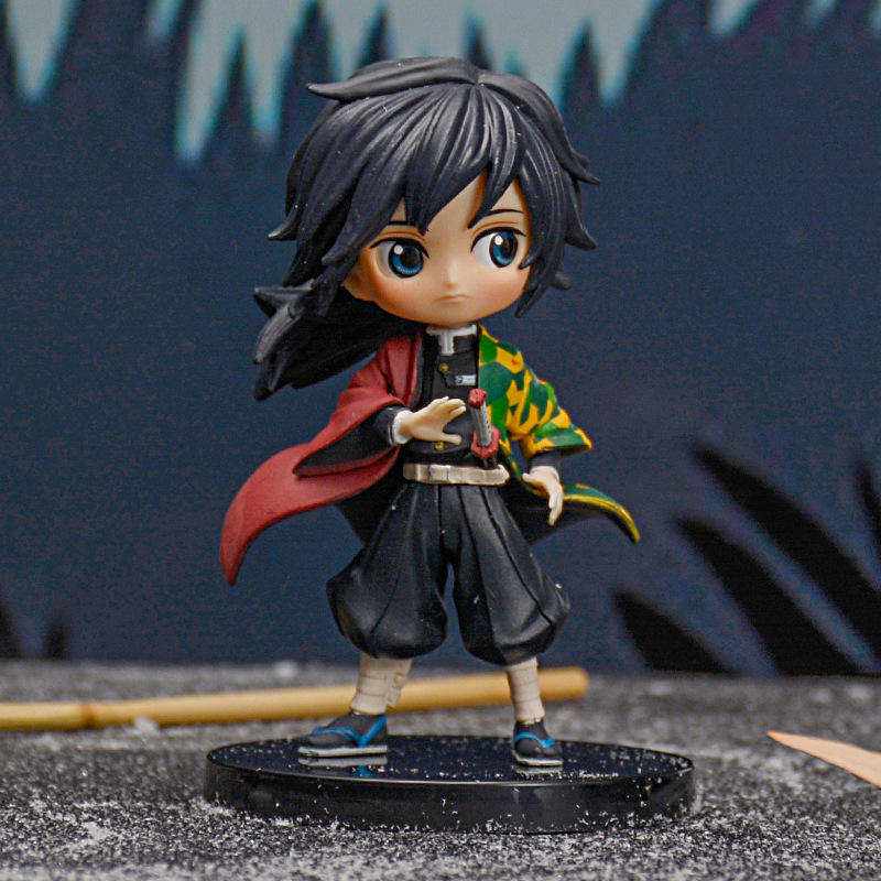 Custom Q-Version Mini Figuras Demon Slayer: Kimetsu No Yaiba Anime PVC Action Model Figure Toys
