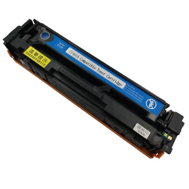 toner manufacture CF400 CF402 CF403 CF401compatible 201A refillable color laser toner cartridge for hp printer m252 m277 m274