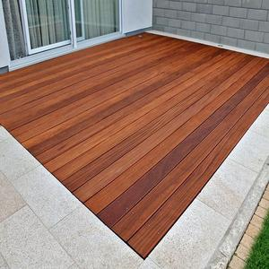 cumaru terrace solid timber decking