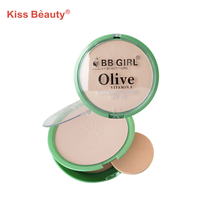 Kiss beauty compact powder BB gadis zaitun <span class=keywords><strong>kosmetik</strong></span> <span class=keywords><strong>produk</strong></span> face powder