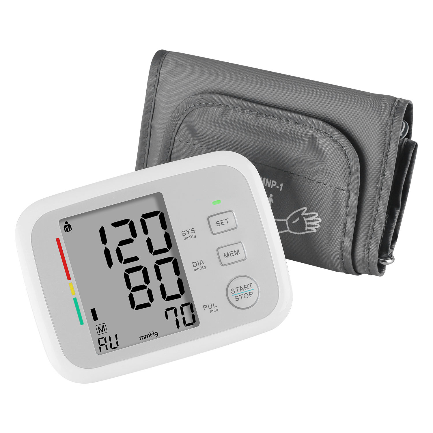 Medical Automatic Electronic Digital Sphygmomanometer Blood Pressure Monitor Upper Arm Factory Price