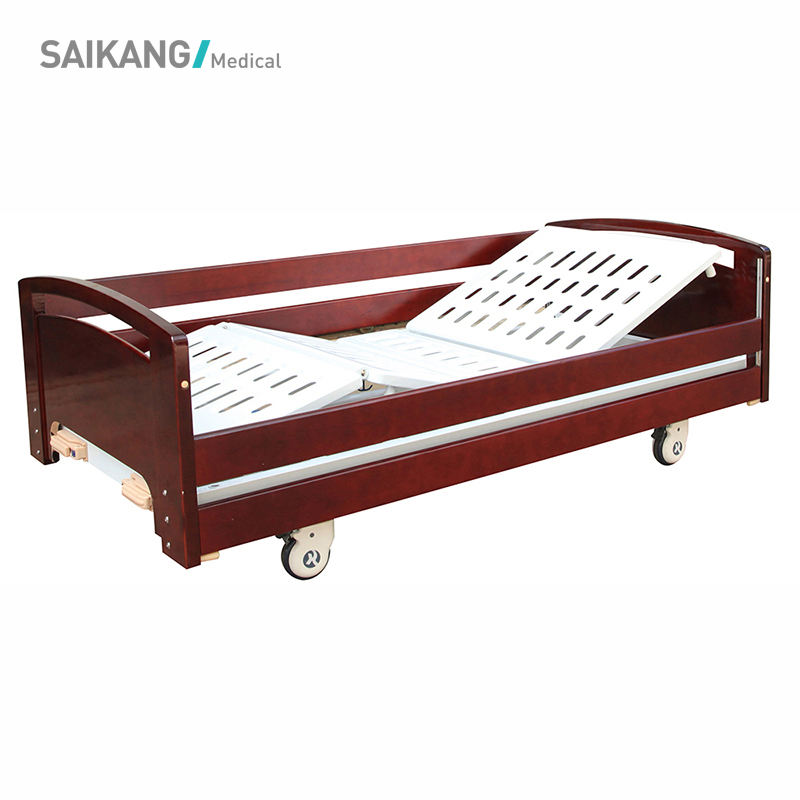 SK010-4 Comfortable Adjustable Home Patient Care Nursing Bed For Elder