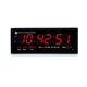 Indoor 3 Inches Red Digital Wall LED Digital Clock Customized Digital Table Clock Alarm Counter